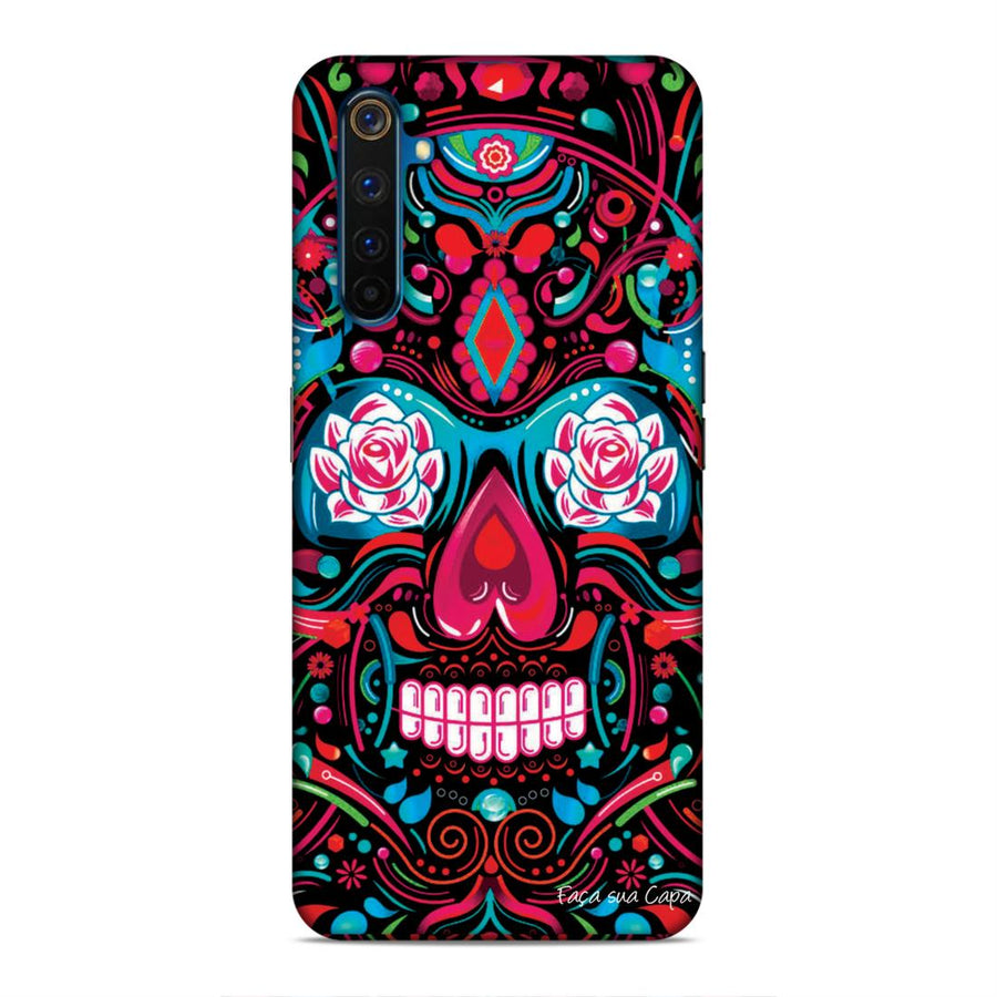 Abstract Real Me 6 Mobile Back Cover cx32