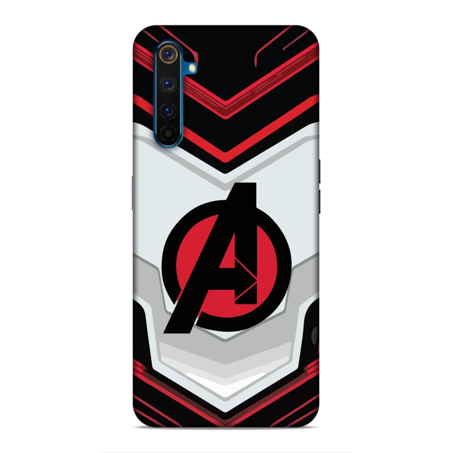 Avengers Real Me 6 Mobile Back Cover cx681