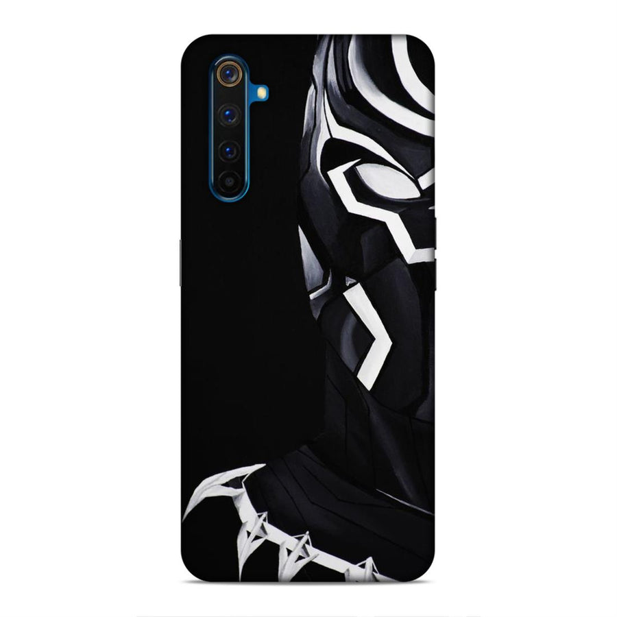 Black Panther Real Me 6 Mobile Back Cover cx736