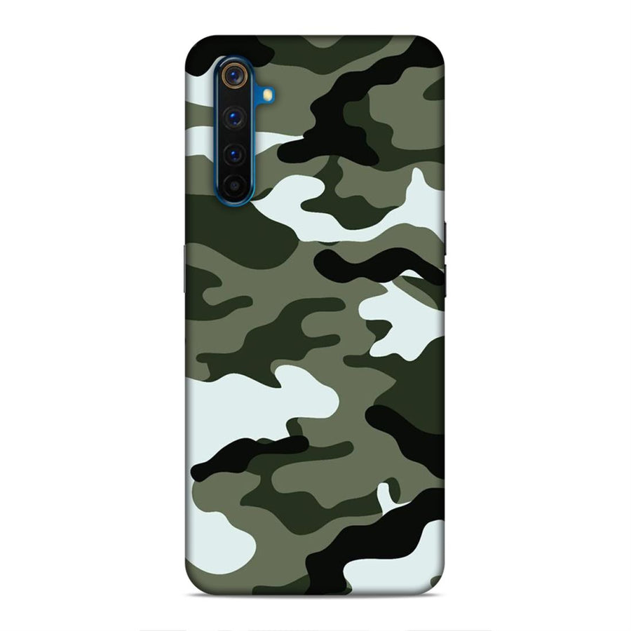 Pubg  Real Me 6 Pro Mobile Back Cover cx597