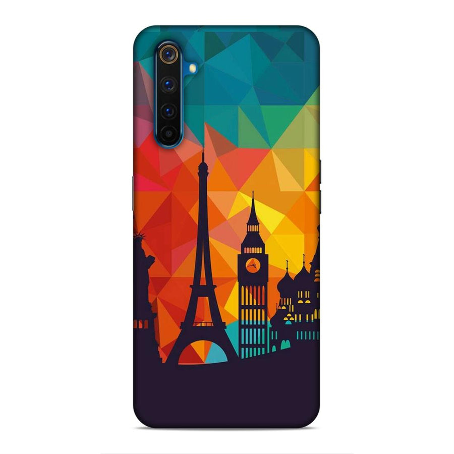Skylines Real Me 6 Pro Mobile Back Cover cx656