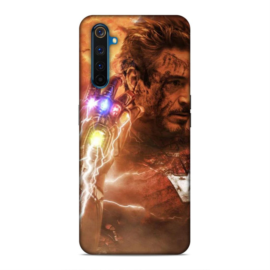 Iron Man Real Me 6 Pro Mobile Back Cover cx750