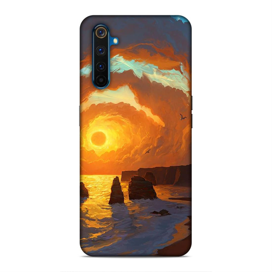 Abstract Real Me 6 Pro Mobile Back Cover cx812
