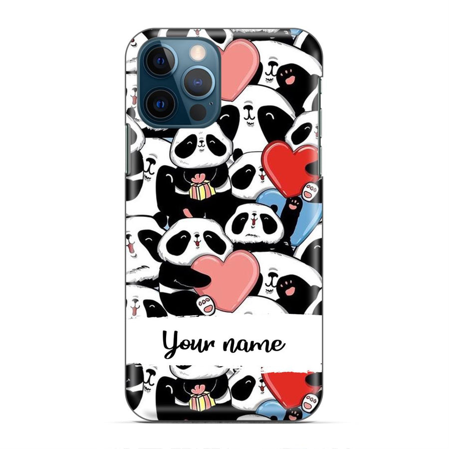 Panda Custom Name Case cx05