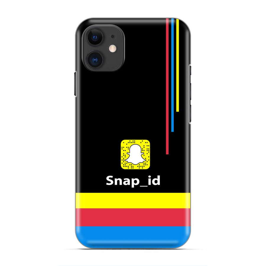 Snapchat id Custom Designer Name Case