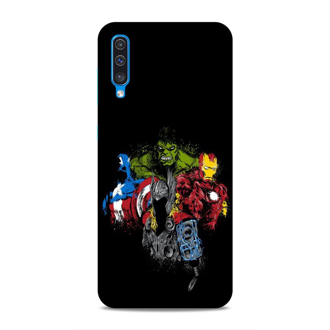 new concept a5560 9ed72 Avengers Samsung A50 Mobile Back Cover nx329