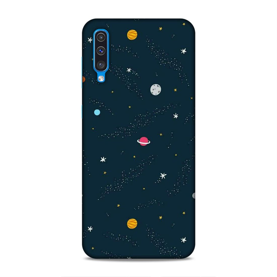 Space Samsung A50 Mobile Back Cover nx409