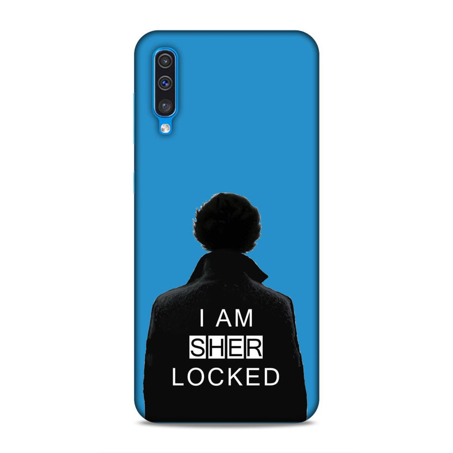Sherlock Holmes Samsung A50 Mobile Back Cover nx472