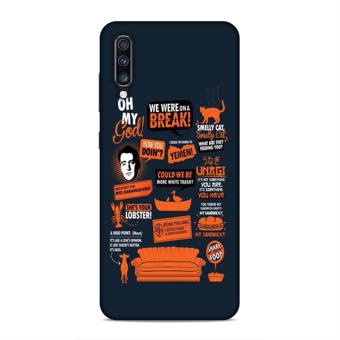 hot sales 5871a 25e53 Friends Samsung A70 Mobile Back Cover nx607