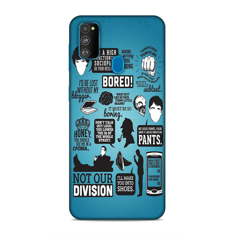 Sherlock Holmes Samsung M30s Mobile Back Cover nx465