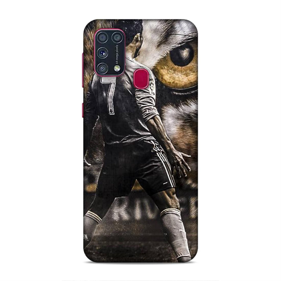 Soft Phone Case,Phone Cases,Samsung phone Cases,Samsung M31 Soft Case,Football