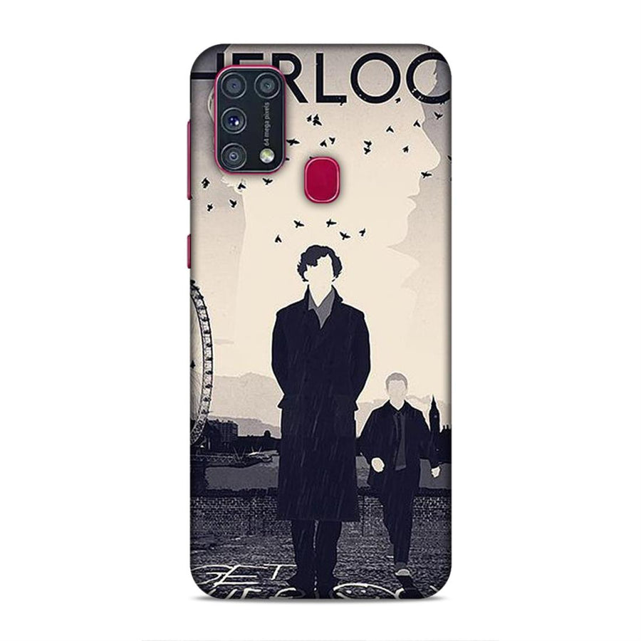 Soft Phone Case,Phone Cases,Samsung phone Cases,Samsung M31 Soft Case,Sherlock Holmes