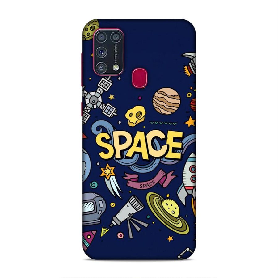 Soft Phone Case,Phone Cases,Samsung phone Cases,Samsung M31 Soft Case,Space