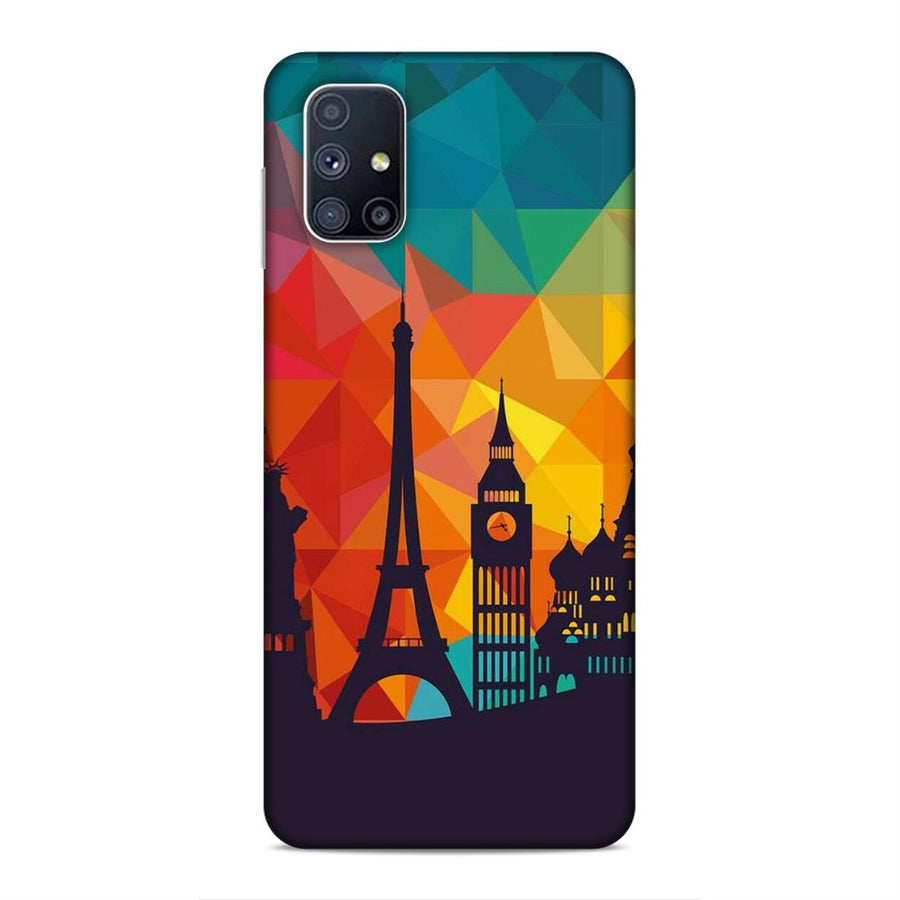 Phone Cases,Samsung M51 Soft Case,Soft Phone Case,Skyline