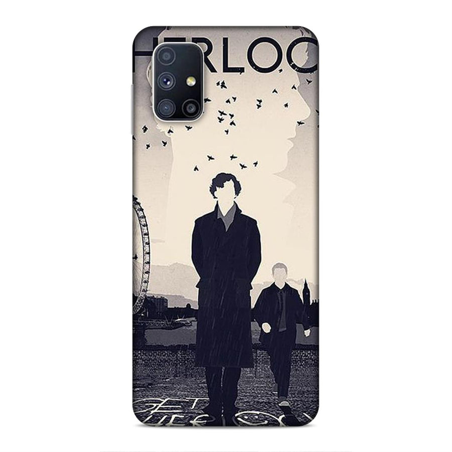Sherlock Holmes Samsung M51 Mobile Back Cover cx859