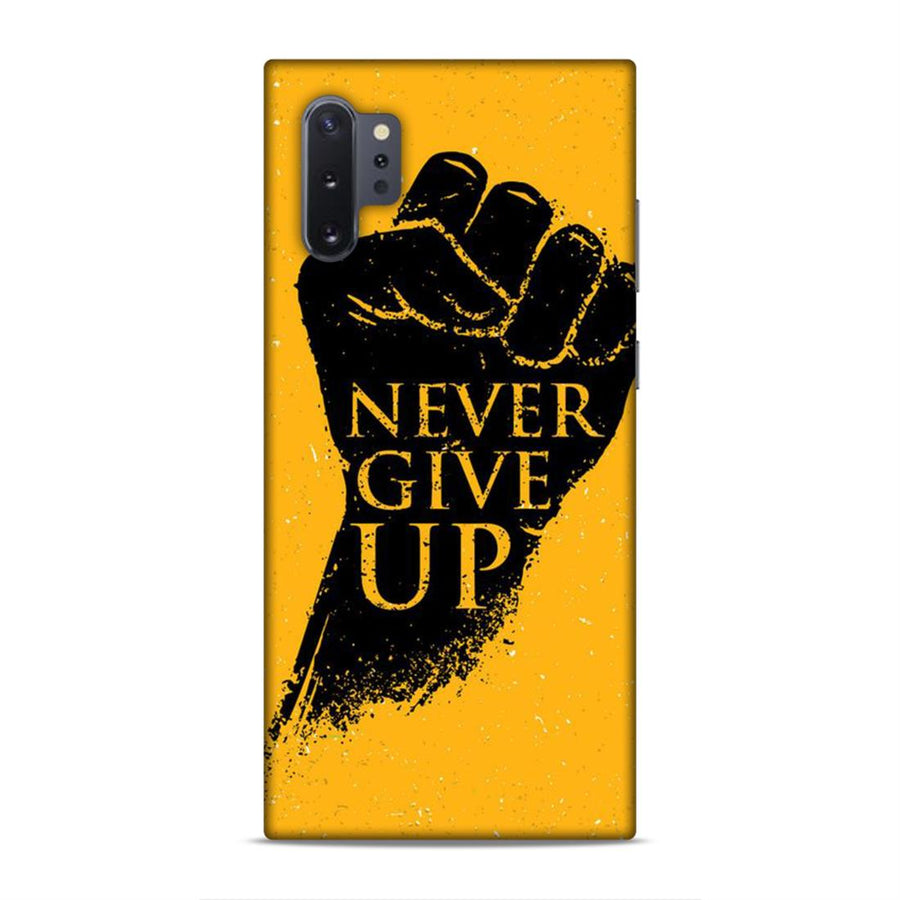 Typography Samsung Note 10 Plus Soft Case cx871