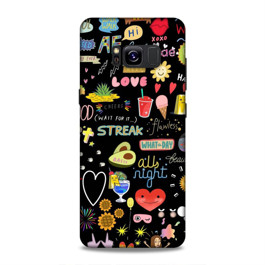 Girl Collections Samsung S8 Mobile Back Cover nx424