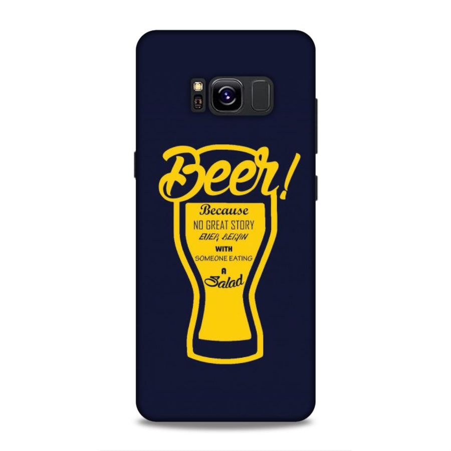Typography Samsung S8 Mobile Back Cover nx518