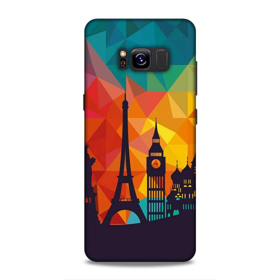 Skylines Samsung S8 Mobile Back Cover nx656