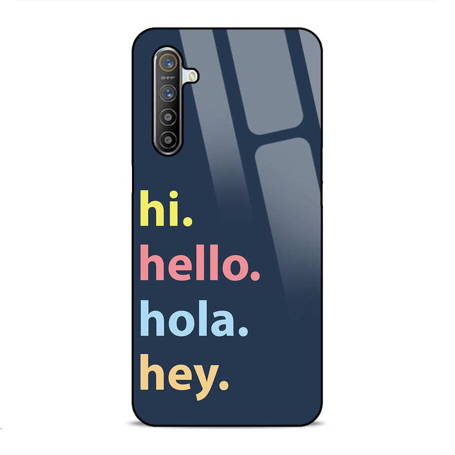 Glass Phone Cases,Realme x2 Glass Case