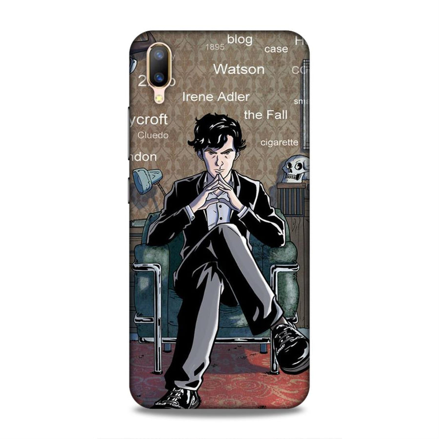 Soft Phone Case,Phone Cases,Vivo Phone Cases,Vivo V11 Pro Soft Case,Sherlock Holmes