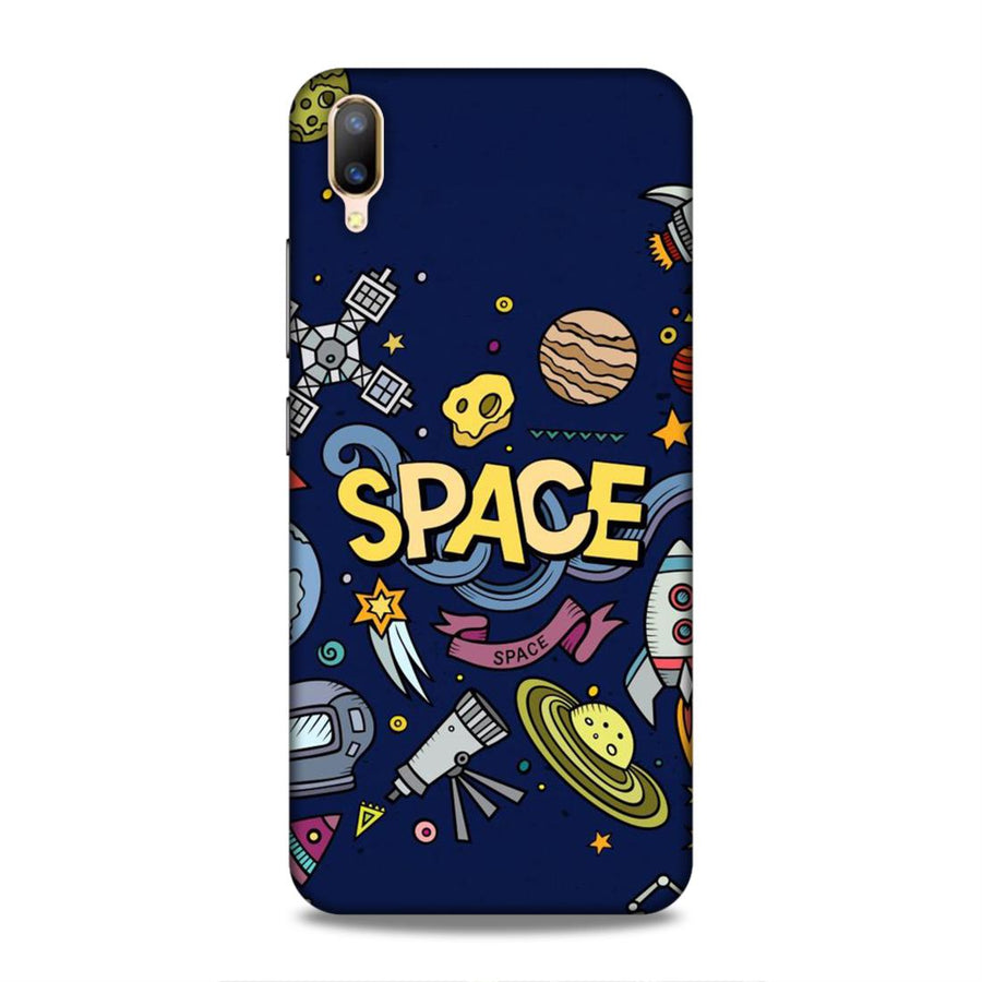 Soft Phone Case,Phone Cases,Vivo Phone Cases,Vivo V11 Pro Soft Case,Space