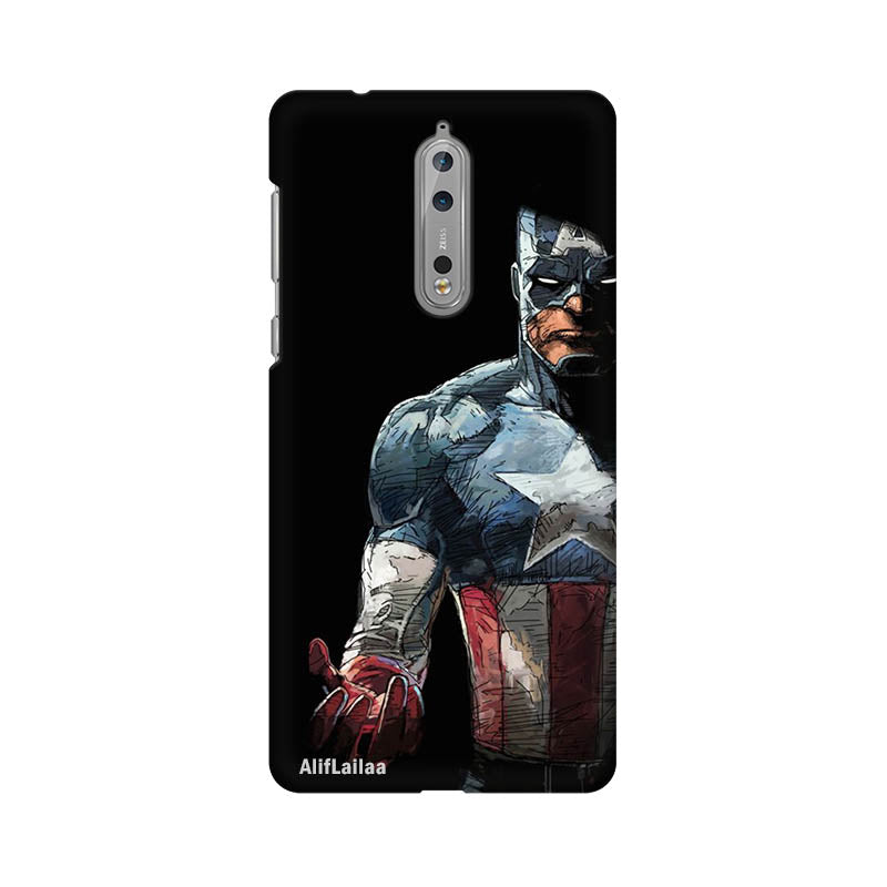 Captain America Nokia 8 Sublime Case Nx574