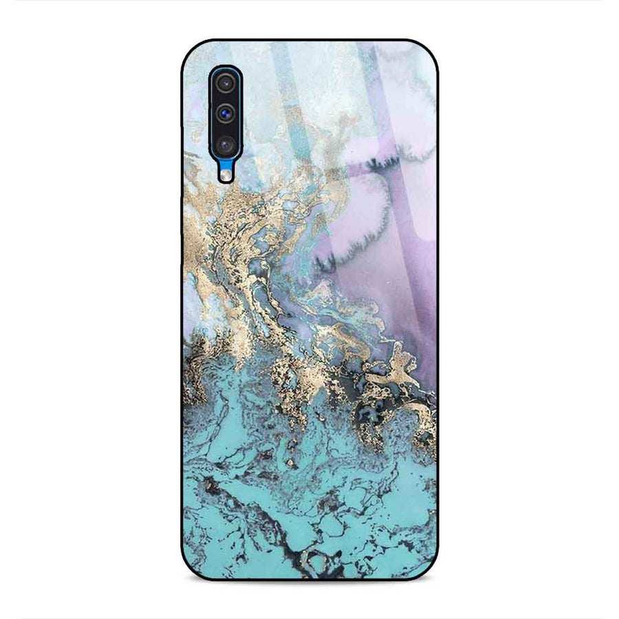 Samsung A50 Designer Glass Back cover nx 29