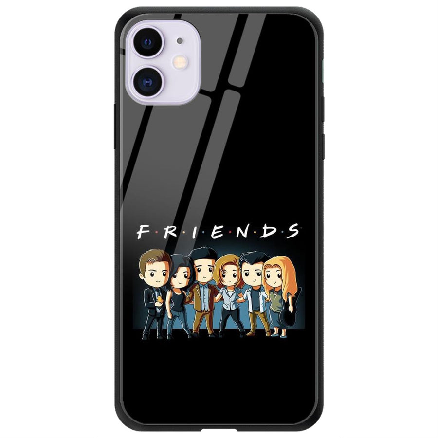 Phone Cases,Apple Phone Cases,iPhone 11 Glass Case,Friends