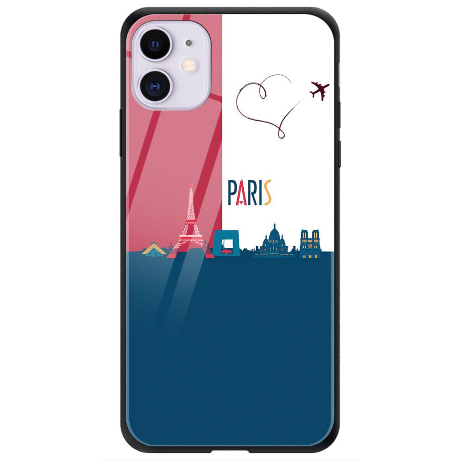Phone Cases,Apple Phone Cases,iPhone 11 Glass Case,Skylines