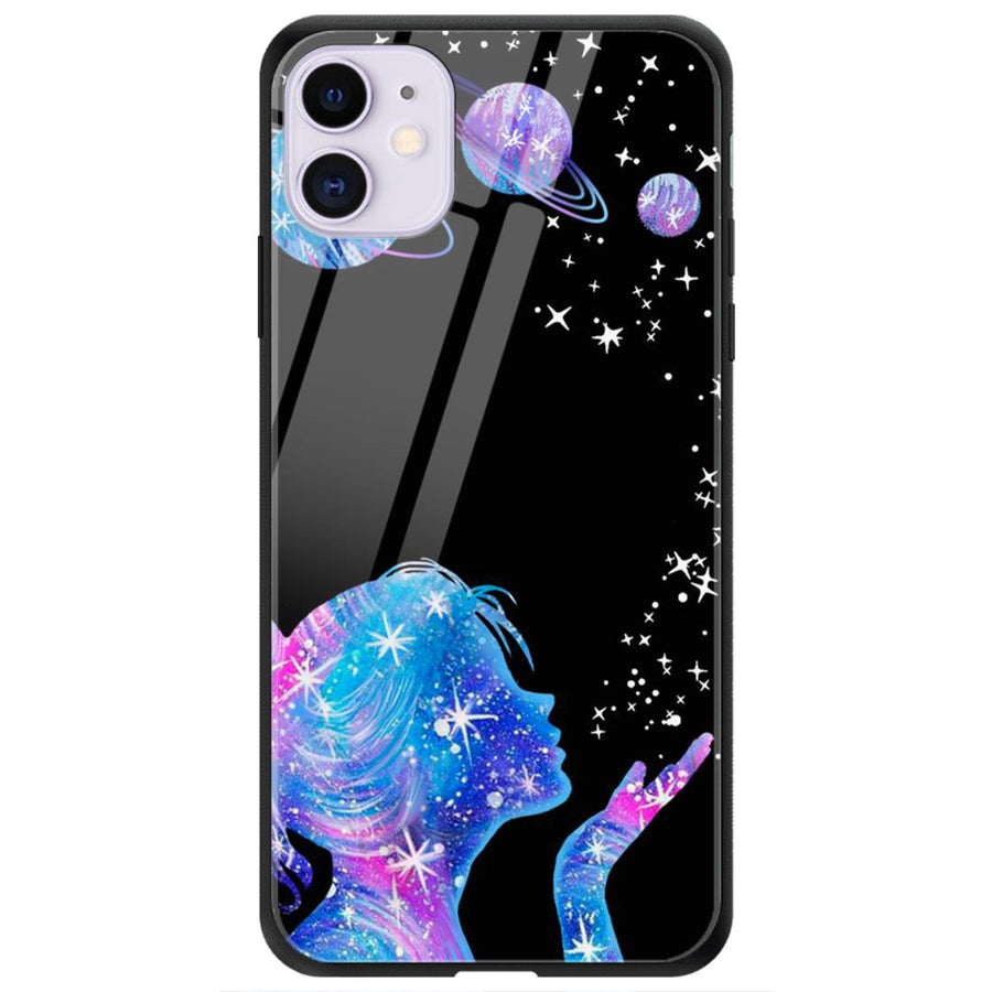 Phone Cases,Apple Phone Cases,iPhone 11 Glass Case,Space