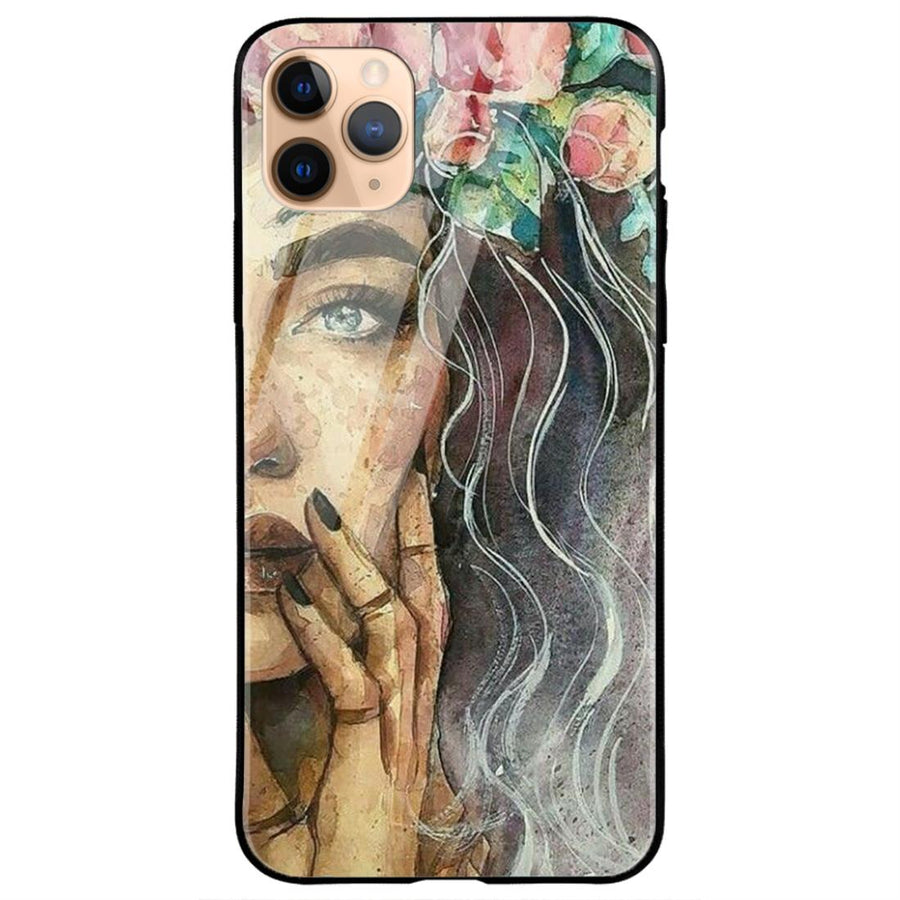 Phone Cases,Apple Phone Cases,iPhone 11 Pro Glass Case,Girl Collections