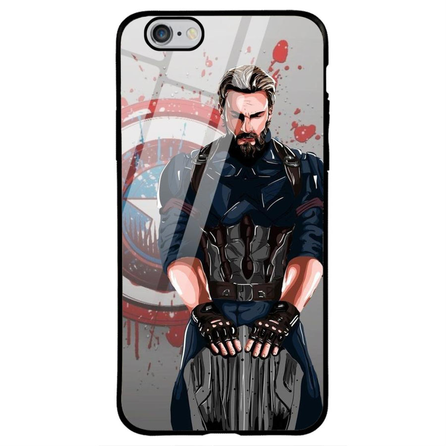 Phone Cases,Apple Phone Cases,iPhone 6/6s Glass Cases,Superheroes