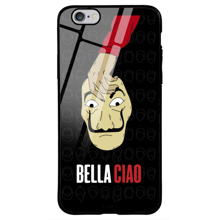 Phone Cases,Apple Phone Cases,iPhone 6/6s Glass Cases,Money Heist