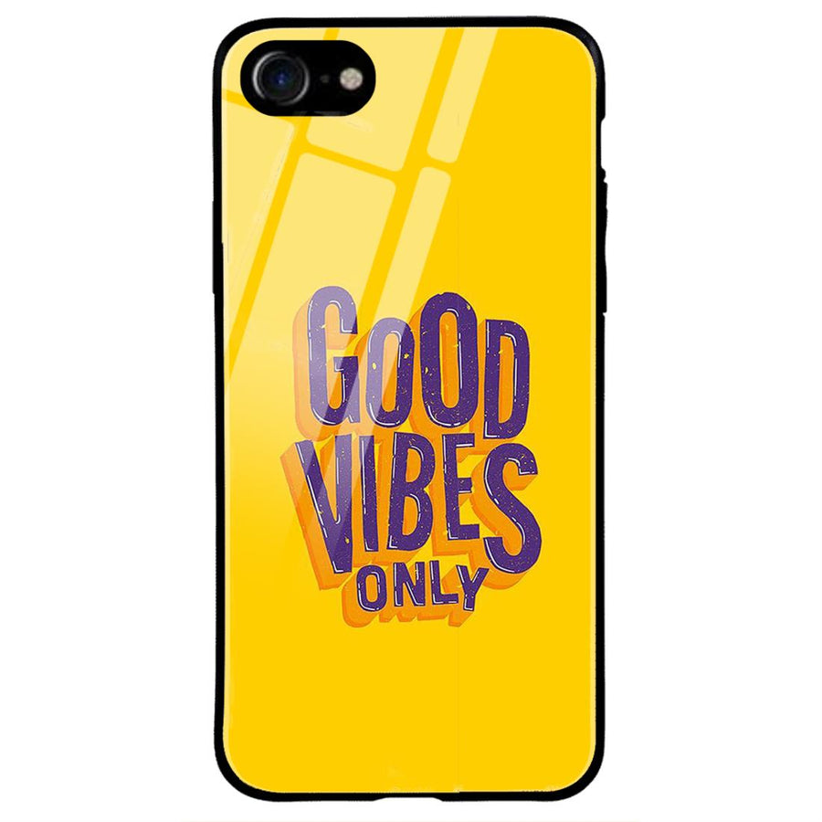 Phone Cases,Apple Phone Cases,iphone 7/8 Glass Cases,Typography
