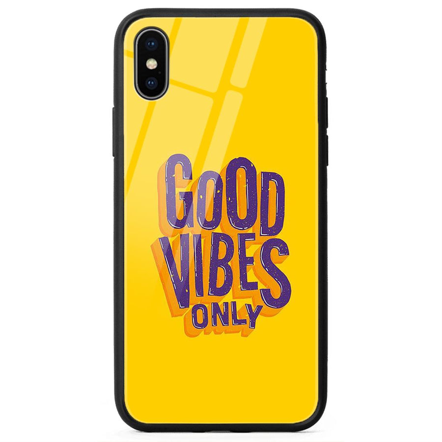 Glass Phone Cases,Apple Glass Phone Cases,iPhone X Glass Case,Typography