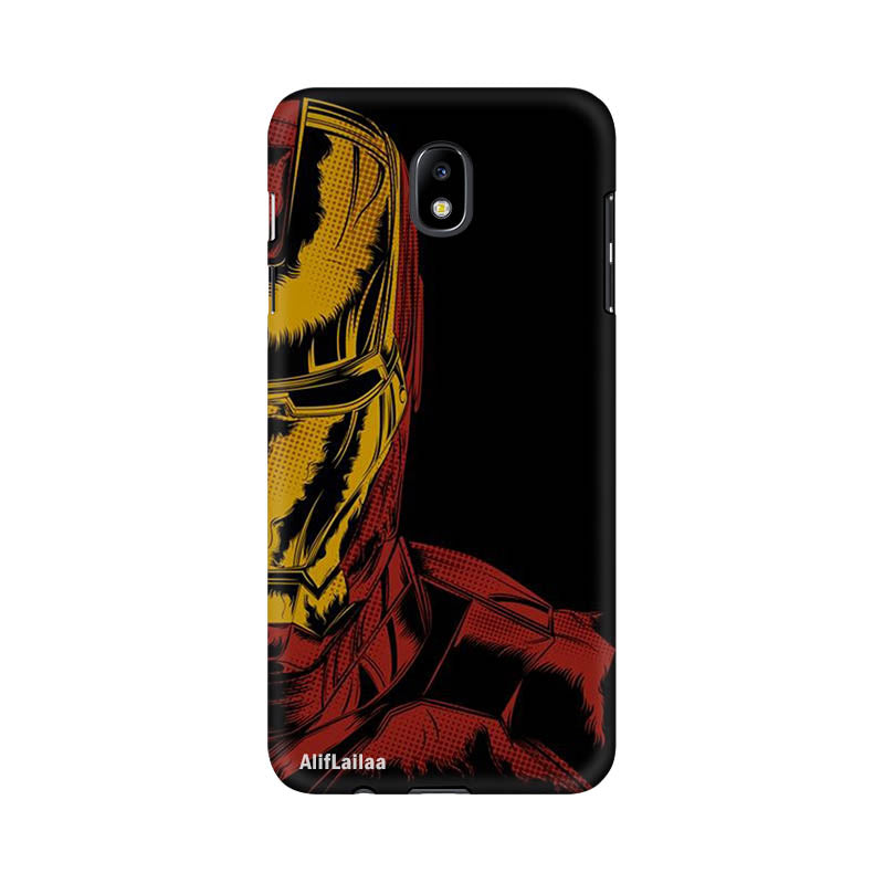 Iron Man J7 Pro Sublime Case Nx104