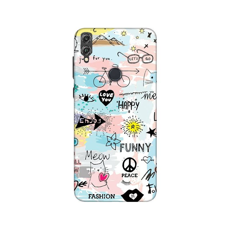 Phone Cases,Prinnted Phone Covers,Honor Phone Cases,Honor 8X,Girl Collections