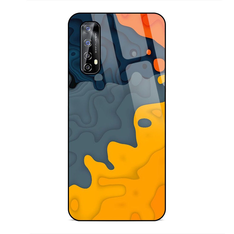 Realme Narzo 20 Pro  Designer Glass Back cover nx 91