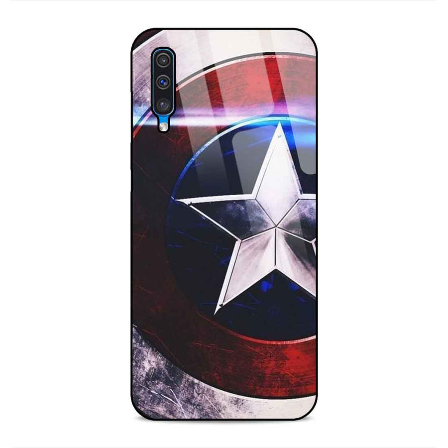 Samsung A50 Designer Glass Back cover nx 48