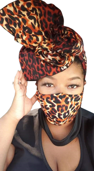 Headwrap and Mask Sets