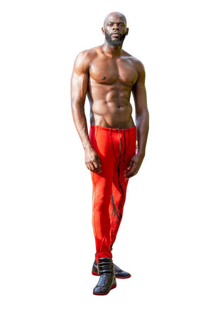 Men's Airbrush Meggings