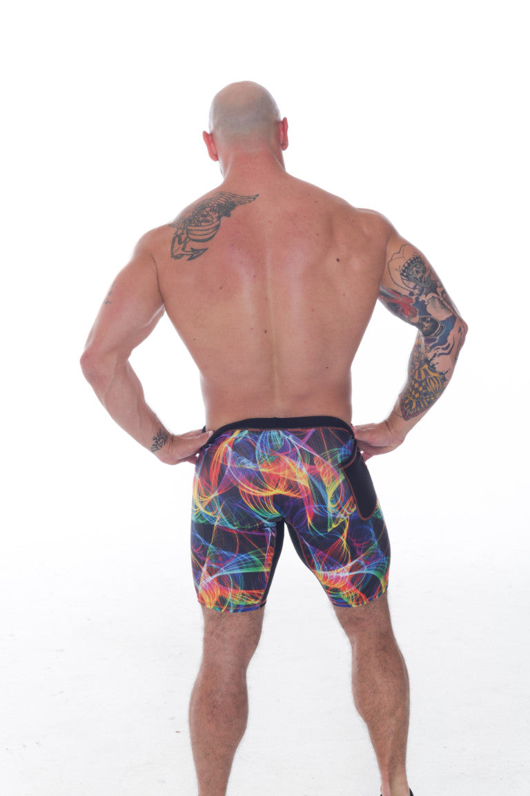 Men's Compression w/ Gusset Shorts