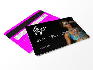 Gyv Me Body Gift Cards