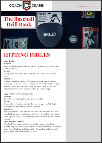 The Baseball Drill Book - Coach Crates