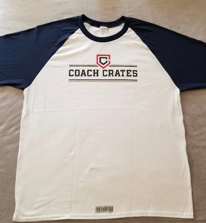 Official Coach Crates 3/4 Sandlot Shirt - Coach Crates