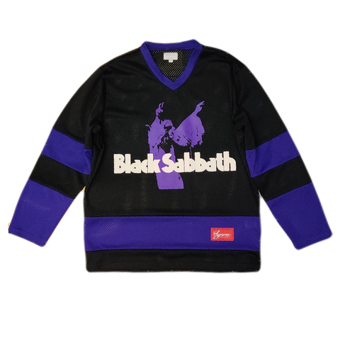 Supreme Black Sabbath Hockey Jersey