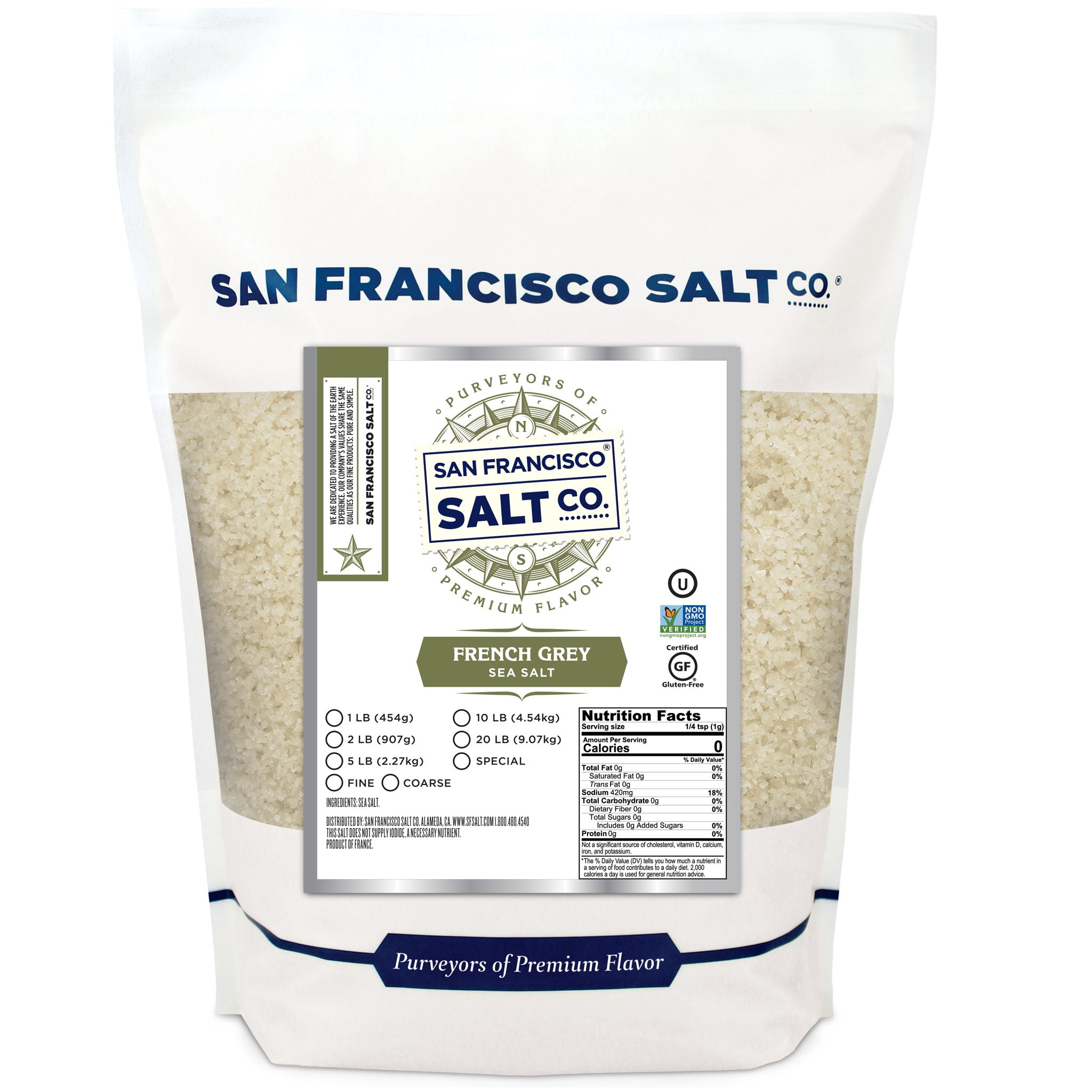 French Grey Salt - San Francisco Salt Company