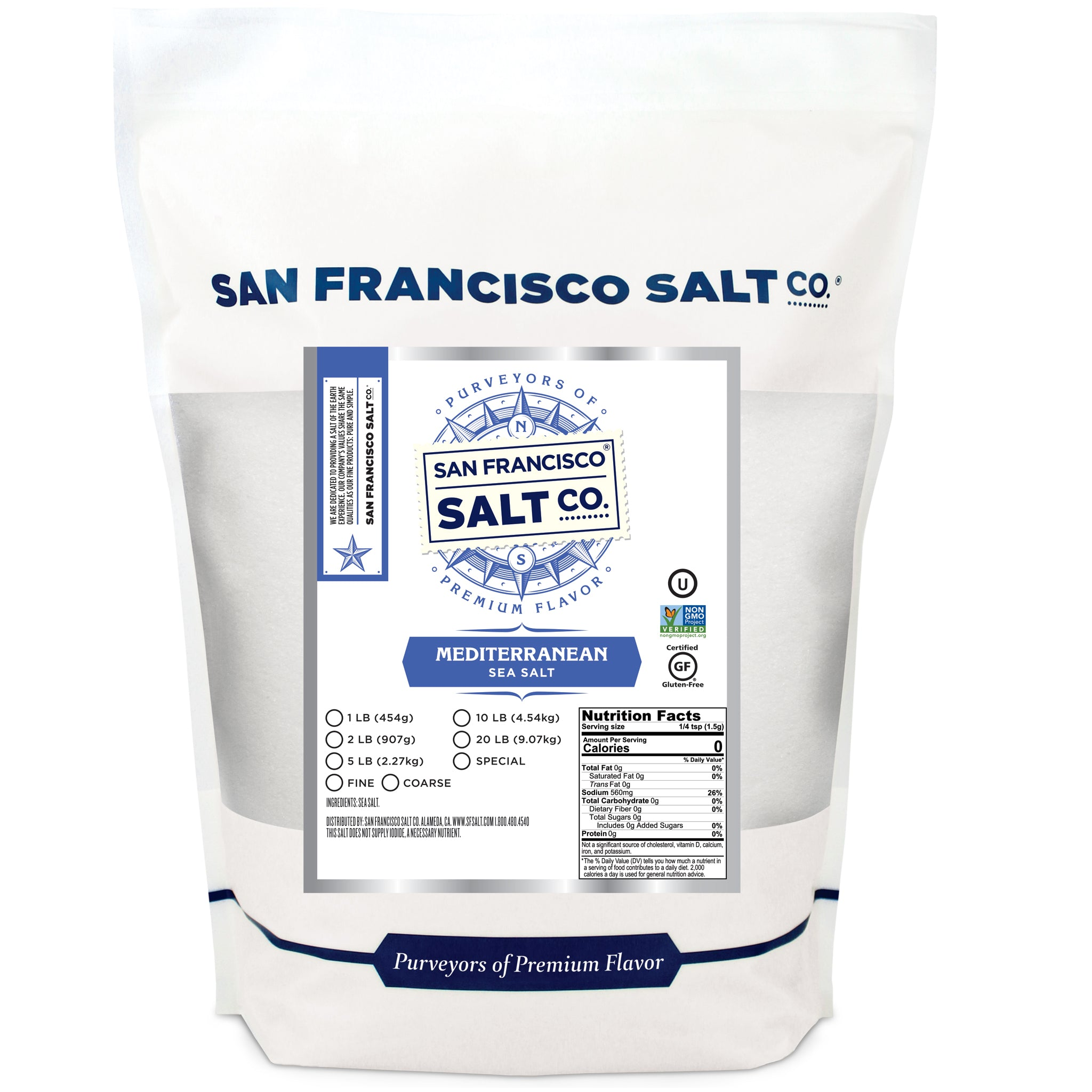 Mediterranean Sea Salt - San Francisco Salt Company