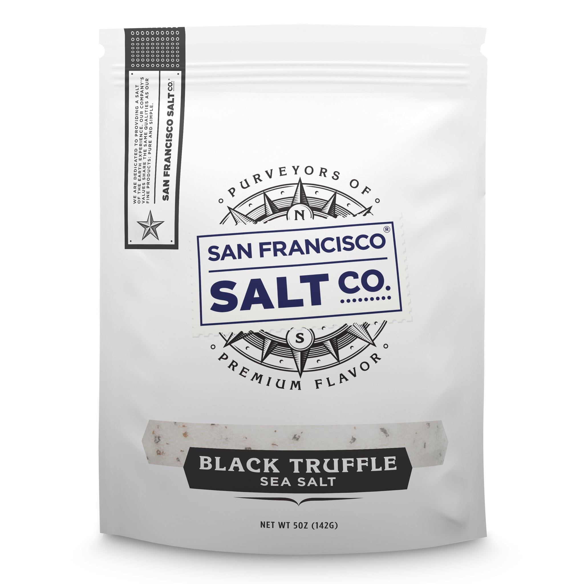Black Truffle 5oz Bag - San Francisco Salt Company